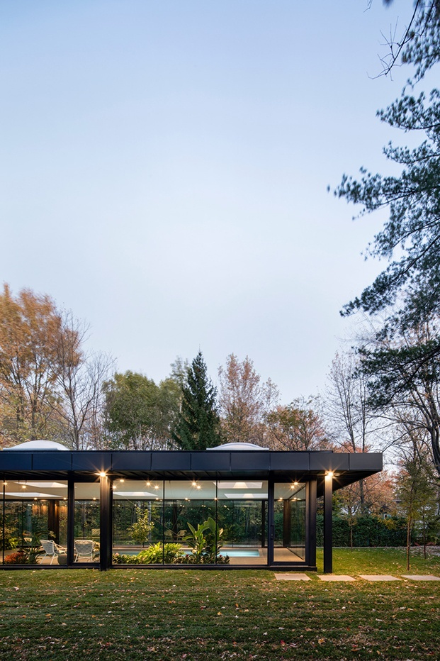 Pavillon A, de Maurice Martel Architecte