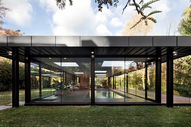 Pavillon A, arquitectura de cristal en Canadá.