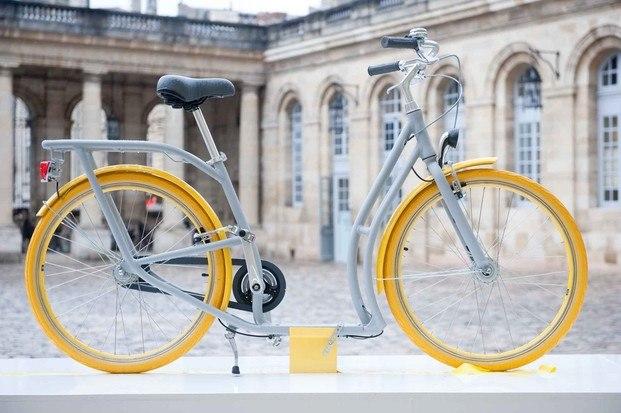 bicicleta burdeos peugeot diseñada por philippe starck