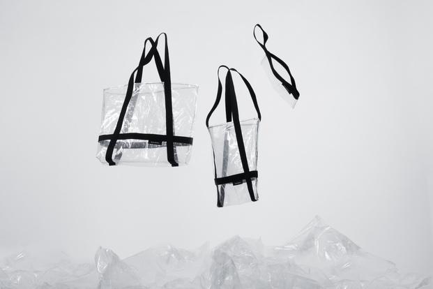 RR400. Andreu Carulla para Roca Recicla. Bolsas de plástico reciclado