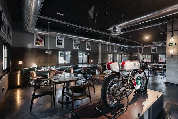 Exposición de motos Cafe Revival