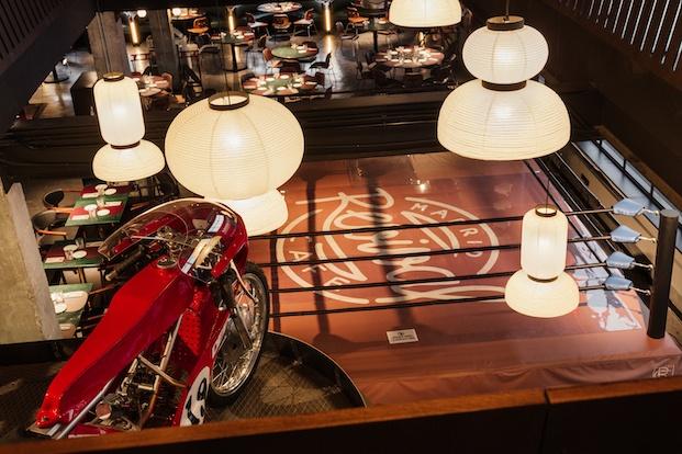 Revival Café Madrid. Stone Designs