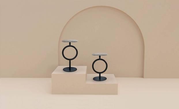 Sancal. Museo Collection 2020. Taburete Totem. Sylvain Willenz