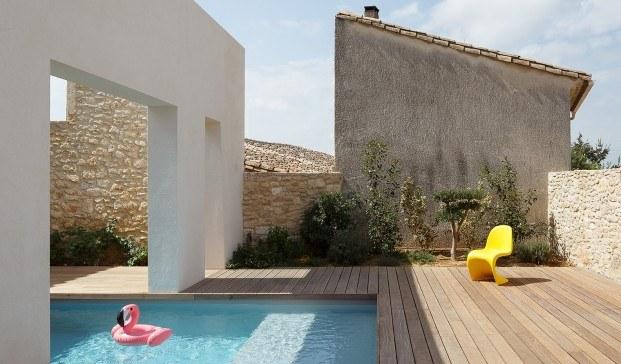 ma!ca casa Montpellier con patio central