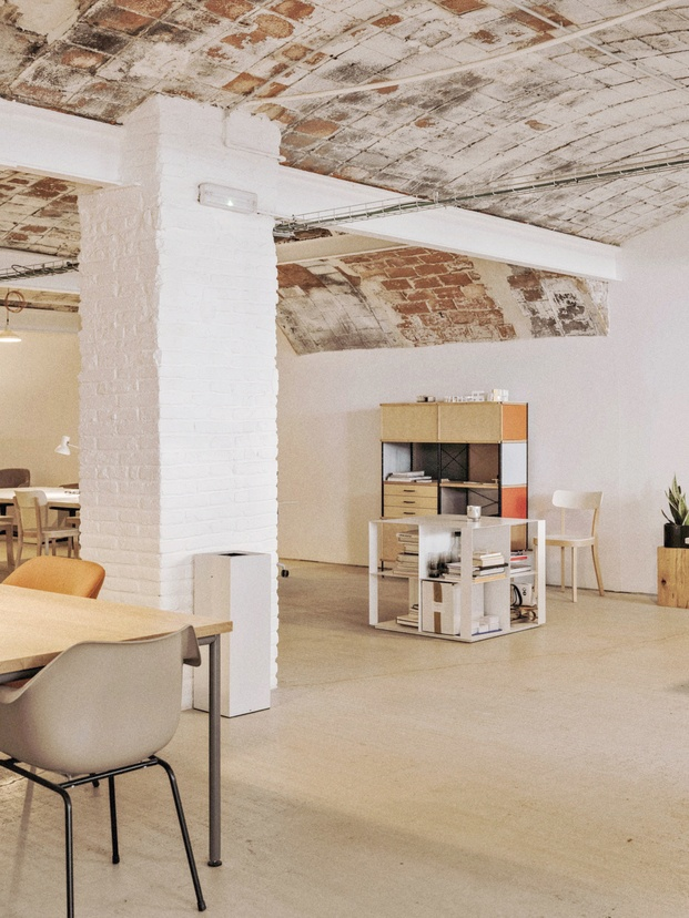 Vitra oficinas showroom Montoya Barcelona. Distrito 22@ Poblenou