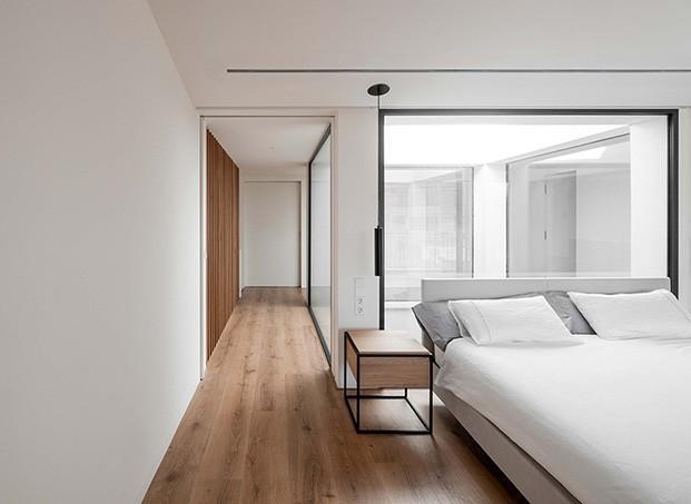 Los dormitoiros, limpios, depurados y llenos de luz