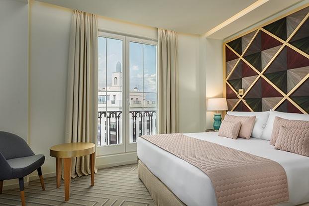 Las habitaciones tienen reminiscencias arabescas