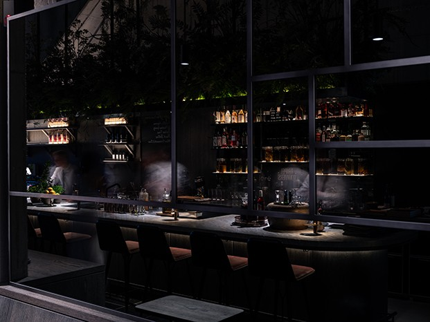 Le Pristine. Space Copenhagen x  Sergio Herman. Restaurante en Amberes. Bélgica