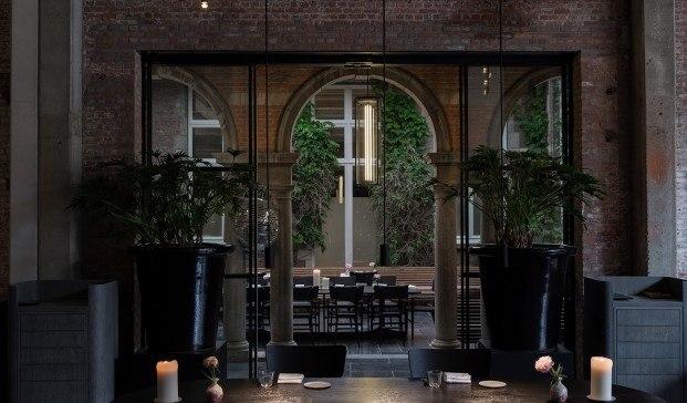 Restaurante Le Pristine, Amberes. Space Copenhagen