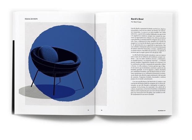 Sillipedia. Libro enciclopedia sobre sillas Andreu World. La Fábrica