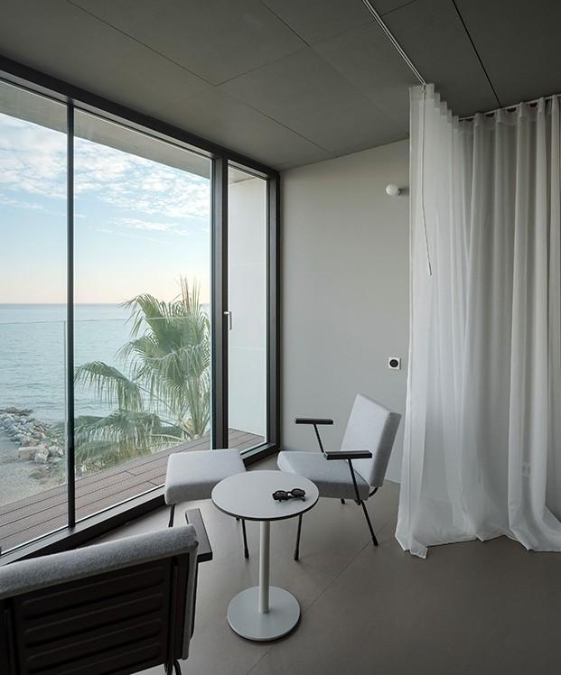 Las vistas son las protagonistas de este apartamento de playa en la Costa del Sol