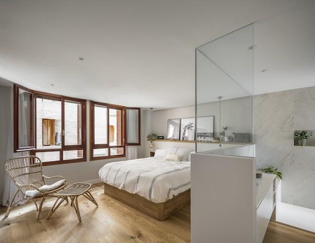 proyecto Mar de Luces, Destudio. Dormitorio