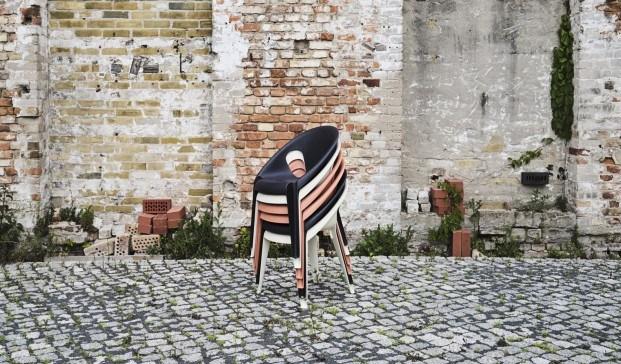 Silla de plástico reciclado Bell Chair. Magis. El mejor diseño de producto de 2020