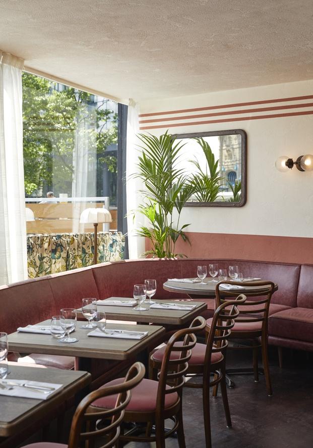 Restaurante Tavolino en Londres, diseñado por Fettle.