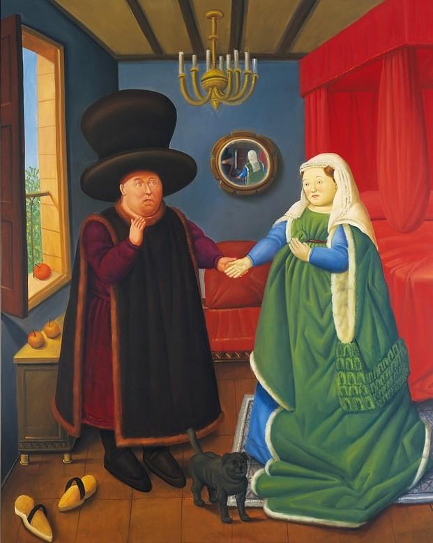 Botero. 60 años de pintura. Exposición en CentroCentro Madrid.