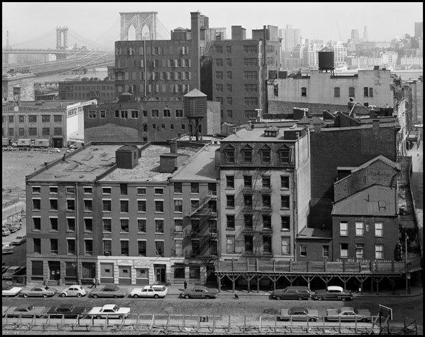 Danny Lyon en el Museo ICO. La destrucción del Bajo Manhattan