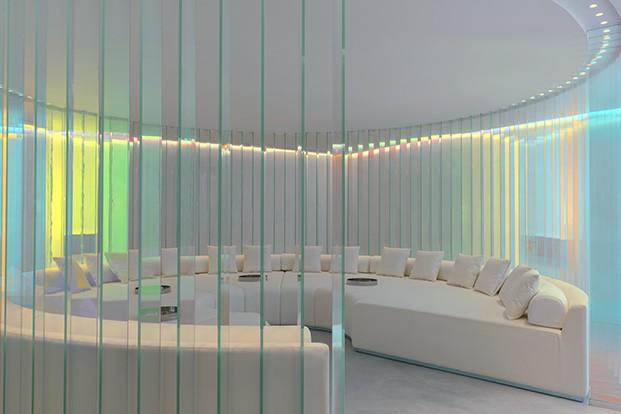 Una de las salas del spa del hotel W Ibiza