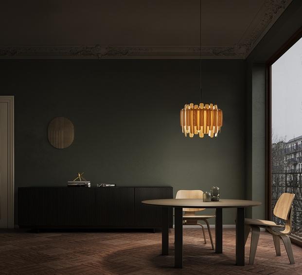 Lámpara Maruja, de Gazpacho para LZF