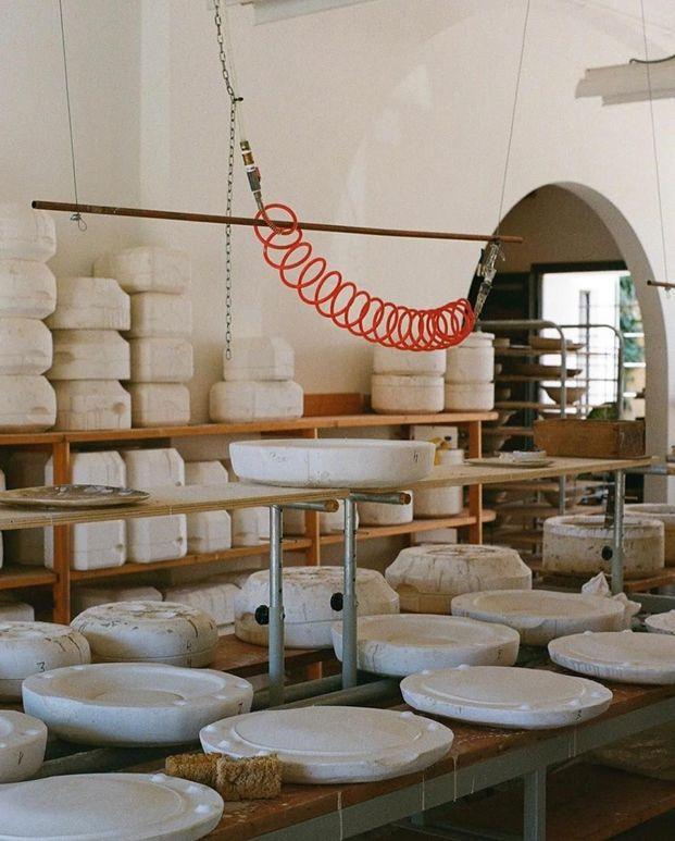Sampere cerámica de vanguardia para alta gastronomía.