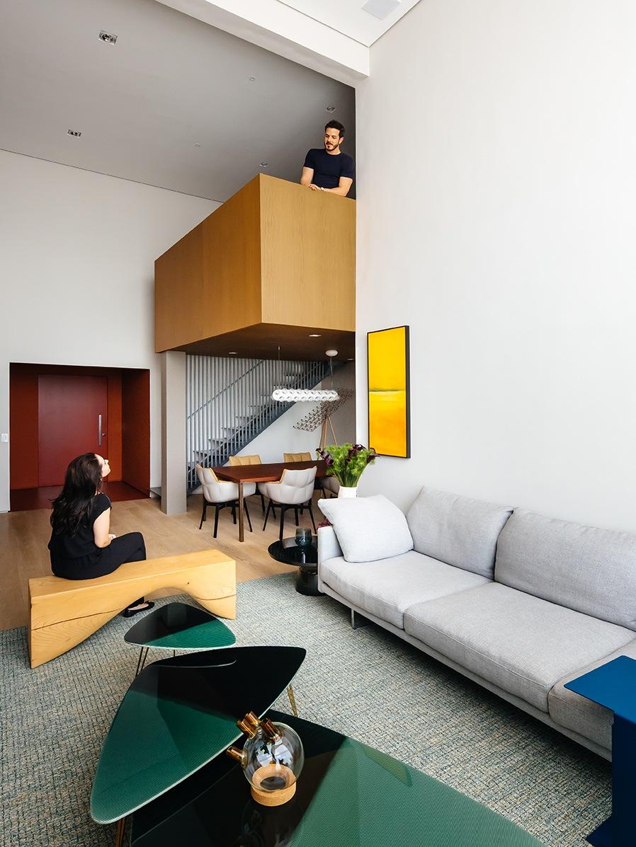 Vivienda moderna en São Paulo proyectada por Flavio Castro