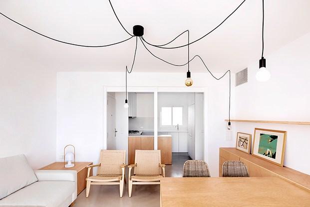 La idea ha sido darle una mayor amplitud visual al apartamento de playa y hacerlo más confortable.