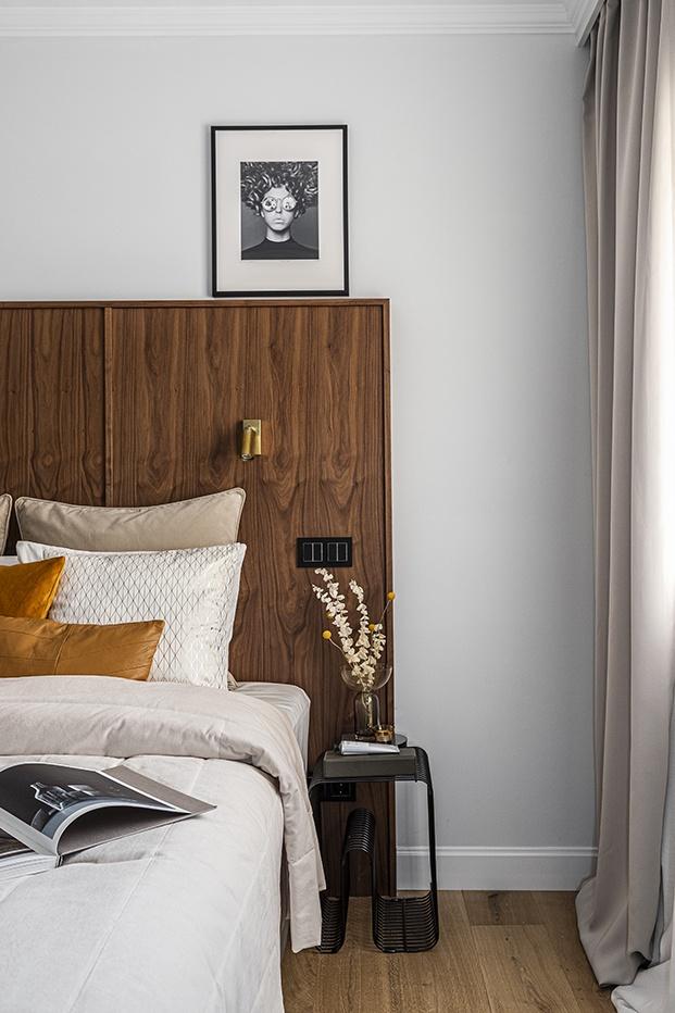 En los dormitorios los cabeceros han sido diseñados a medida por el interiorista Patrick List de Nordic Standard