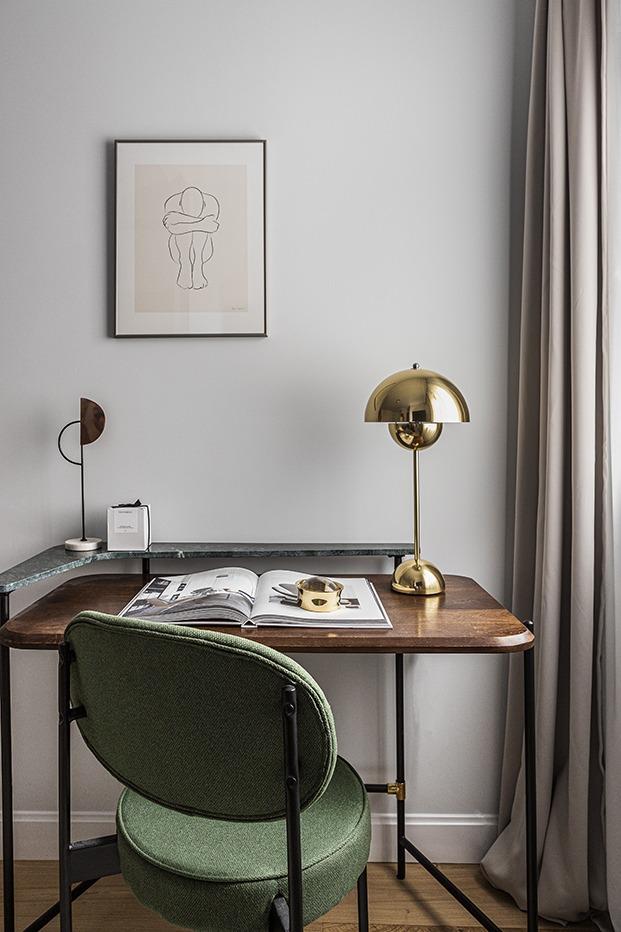 Muebles con inspiración de los 70 alternan con piezas vintage
