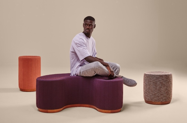 Pufs Dividuals de la colección Void Matters de Sancal por Note Design Studio