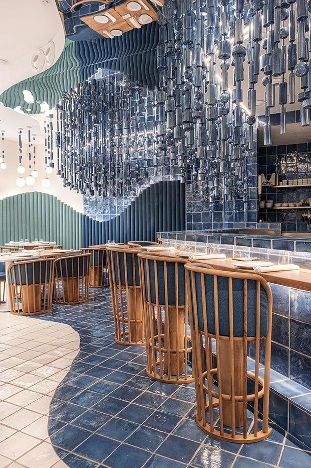 Restaurante La Sastrería en Valencia. Masquespacio