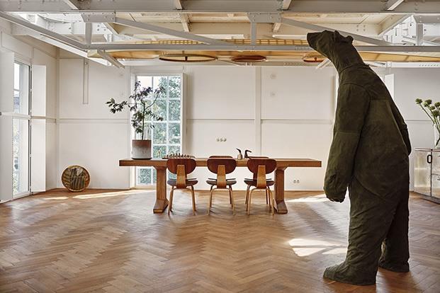 Ketelhuis, de Studio Modijefsky estilo industrial para una vivienda en Holanda.