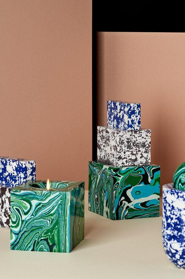 Tom Dixon colección de velas Swirl