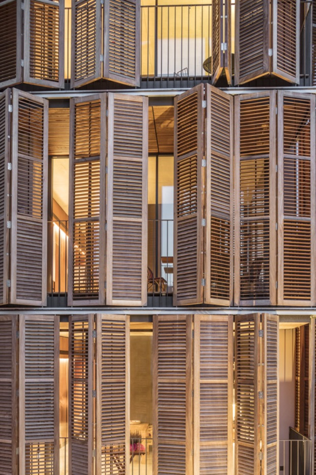 Habitatge Per A Quatre Amics. Lussi + partner AG y la arquitecta Lola Domènech