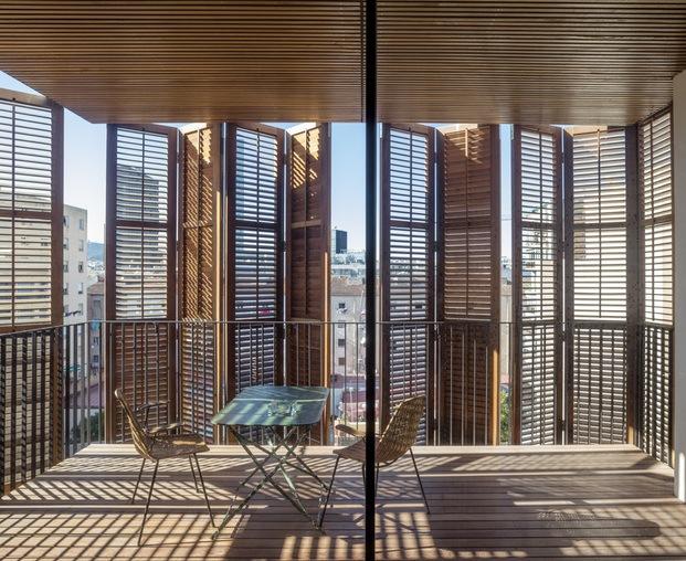 Habitatge per a quatre amics. Lussi + Partner AG y Lola Domènech