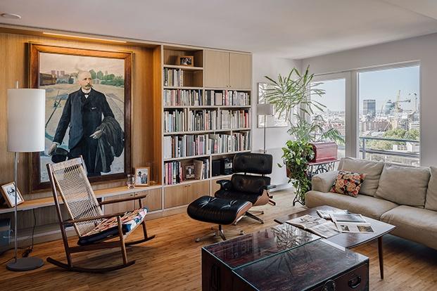 Grandes piezas de diseño del siglo XX dan personalidad a los espacios