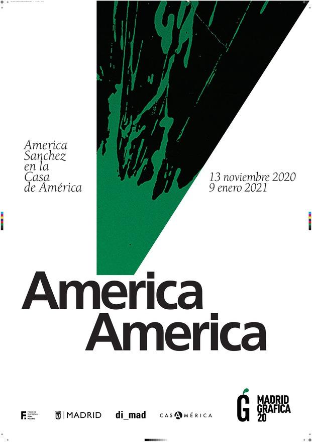 'América America' . Exposición America Sánchez en Casa de América