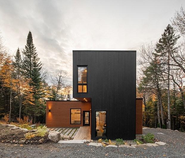 Casa modular prefabricada en Canadá
