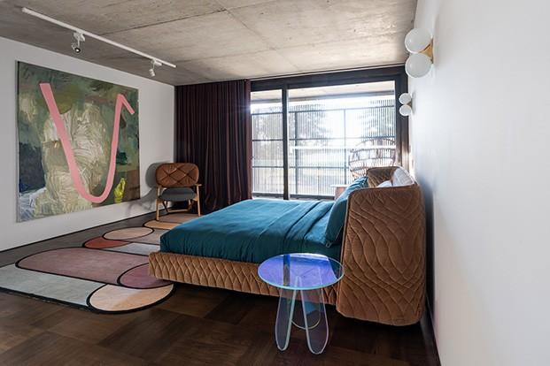 Shutter House Dormitorio