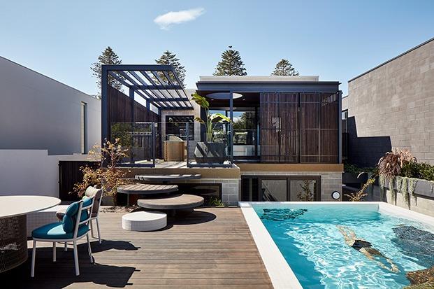 Shutter House piscina