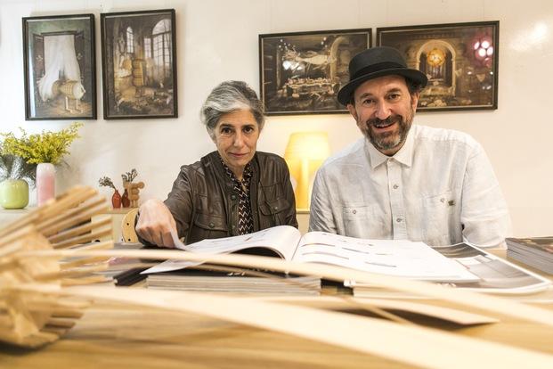 Mariví Calvo y Sandro Tothil de LZF Premio Nacional de Diseño 2020.