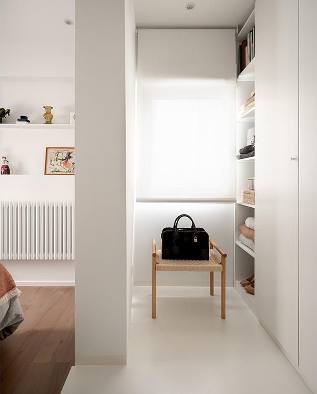El banco del dormitorio es de Zara Home