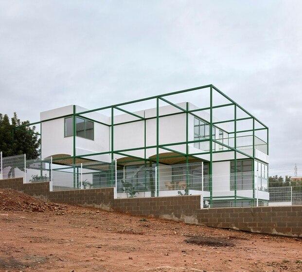 Brick Vault House. Space Popular junto a Estudio Alberto Burgos y Javier Cortina Maruenda