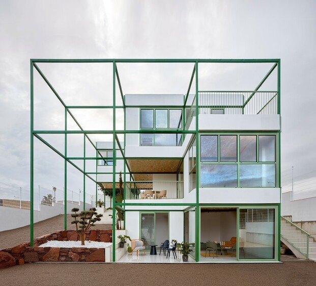 Brick Vault House, por Space Popular, Estudio Alberto Burgos y Javier Cortina Maruenda