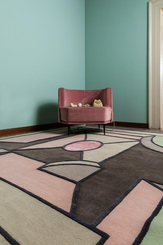 Colección de alfombras Prospettive fantastiche de MM Company.