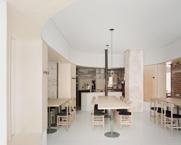 The Arena – Papi restaurant. Neri & Hu