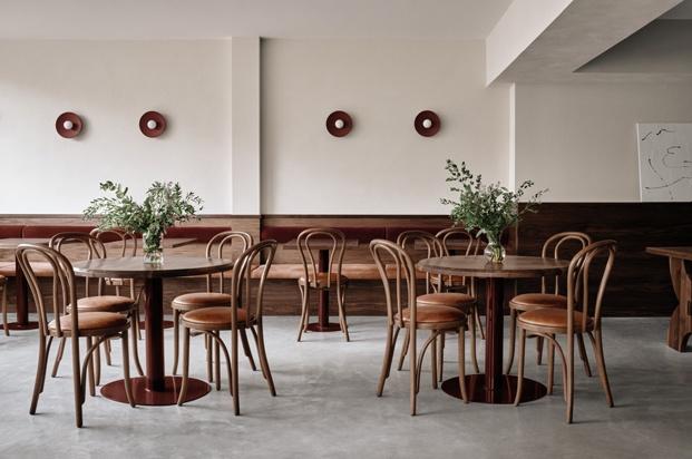 Café Chez Teta, cocina libanesa en Montreal. Por Ivy Studio