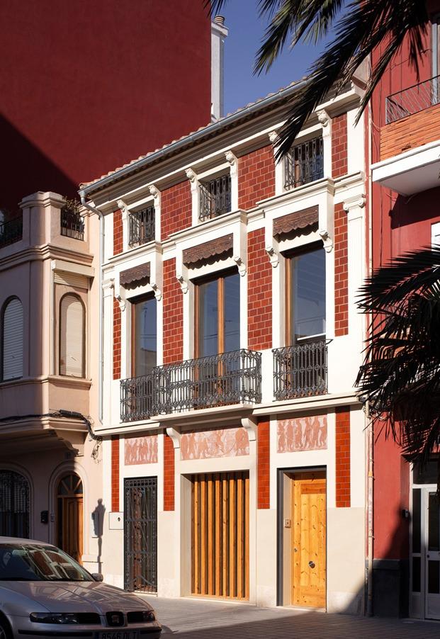 Casa de los Gigantes. El Cabanyal. Valencia. Iterare Arquitectos.