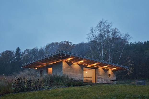 Lo House. Una casa construida en hempcrete, la alternativa sostenible al hormigón