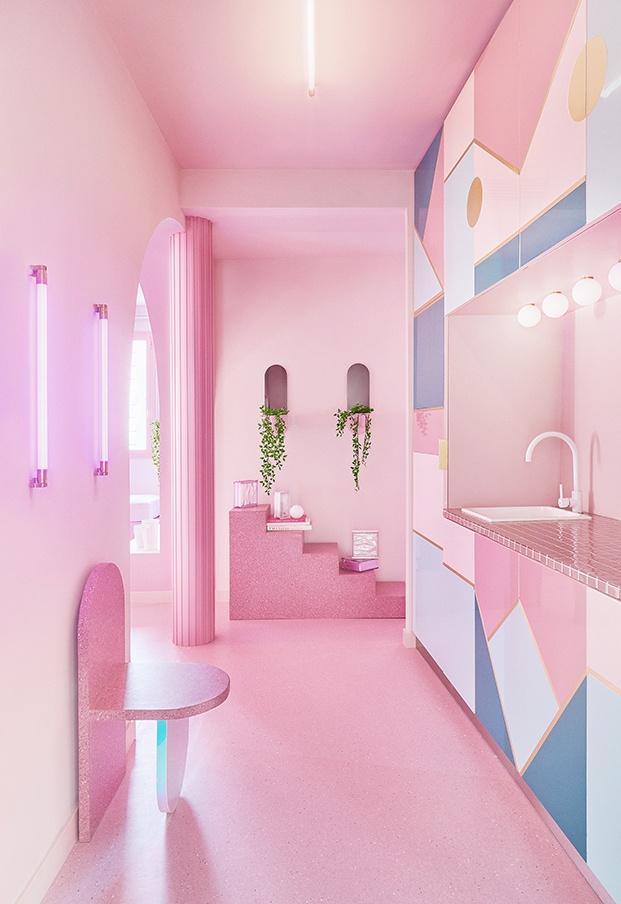 La cocina se ha separado del estar con idea de convertirse en un dormitorio adicional