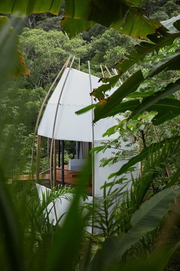 cabañas Coco Villa del Art Villas Resort en Costa Rica. Diseño  ARCHWERK y Formafatal