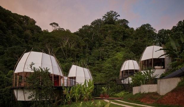 Cabañas en los árboles Coco Villa, fusión natural en Costa Rica